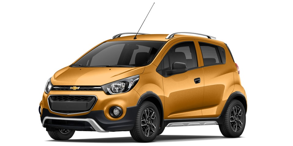 Chevrolet Beat Hatchback 2020 en color ocre